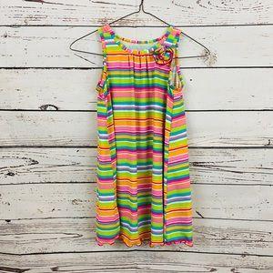 Garnet Hill Striped Summer Dress